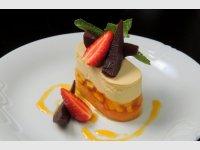 hruškový dortík